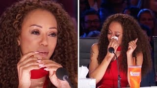 """Top 3 """"WOMAN In TEARS"""" AUDITIONS On America's Got Talent!"""