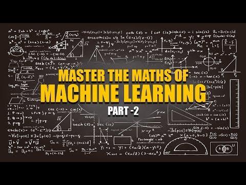 Machine Learning Maths | Vectors And Matrix Norms | Part 2 | Eduonix