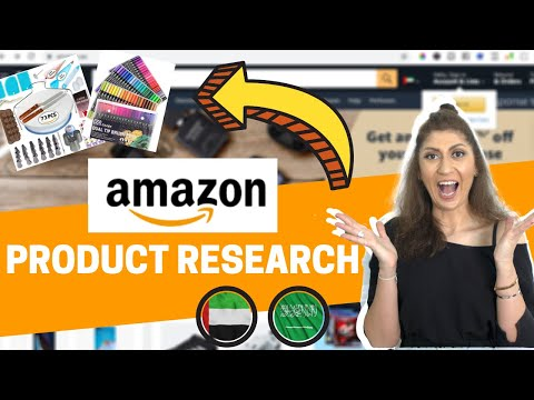 Amazon Product Research UAE | How to find best selling products to sell on Amazon UAE & KSA