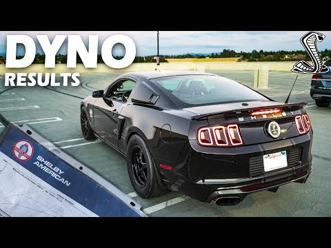 The DYNO RESULTS For My 1000hp Shelby GT500 Super Snake Are In!