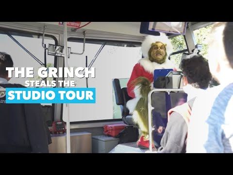 The Grinch Who Stole The Universal Studio Tour