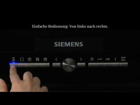 Siemens - Backöfen mit lightControl   Erhältlich bei moebelplus