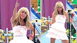 Miley Cyrus Rocks The Stage In Santa Monica [2008]