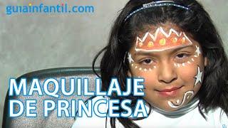Maquillaje de fantasía de princesa