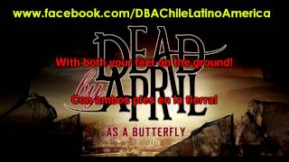 Dead by April - As A Butterfly [Single 2013][With Lyrics][Subtitulado Español][HD]