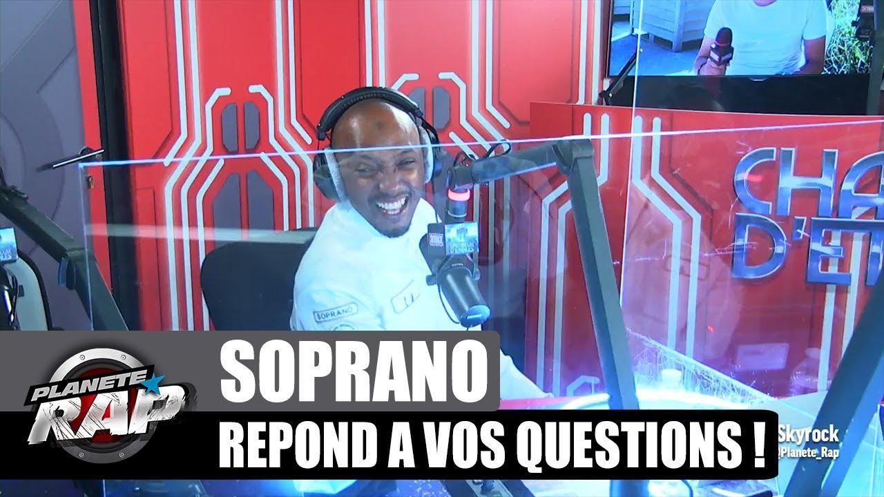SOPRANO ouvre un cabinet de PSY ? Il répond à VOS questions ! (et à Ninho) #PlanèteRap