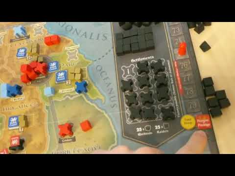 How to Play Pendragon: The Fall of Roman Britain (GMT Games)