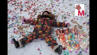 Взрываем хлопушки хлопушки на день влюбленных Обзор и распаковка новогодних хлопушек обзор хлопушка