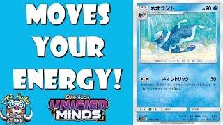 Lumineon  - (Pokémon) - Lumineon Moves Your Energy Around. That's Annoying! (Pokemon TCG)