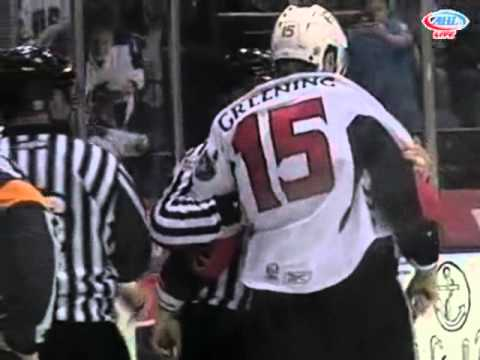 Colin Greening vs. Zac Rinaldo