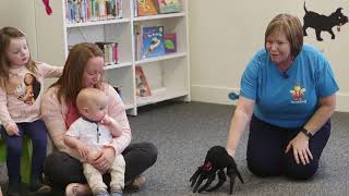 There's a Spider on the Floor | Bookbug Song & Rhyme Library