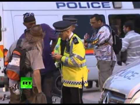 Насилие и демонстрации на Олимпиаде в Лондоне