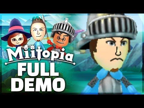 Miitopia - FULL DEMO PLAYTHROUGH - Part 1! [New Nintendo 3DS Gameplay]