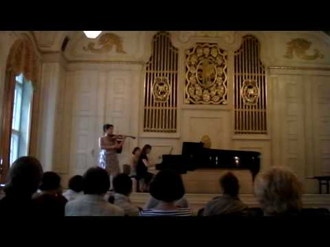 Sarasate Introduction & Tarantella: Live from Salzburg, Austria, 2010