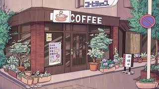 Coffee Shop ☕ A Calm Lofi Hiphop Mix (with Rainthunder)