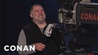 Tony The Cameraman Laughs At Uranus - CONAN on TBS