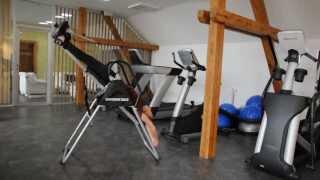 Инверсионный стол Insportline Verge, тренажер для спины и позвоночника от компании Интернет-магазин «SportOPT. CO. UA» - видео 1