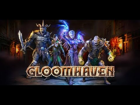 Let's Try Gloomhaven -- Dungeon-Crawling, Tactical-RPG