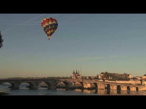 Découvrir la douceur de la Loire en montgolfière