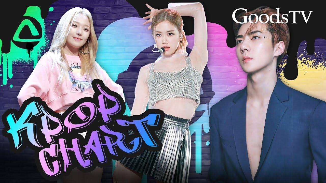 ¡ENTRAN NUEVOS GRUPOS! / ¡Kpop CHART de GOODSTV! (SEM 1 SEPT 2019)