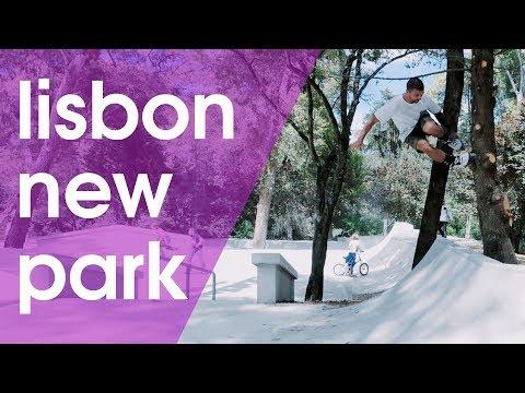MONSANTO SKATEPARK IN THE NEWEST SKATE SPOT IN LISBON 2018