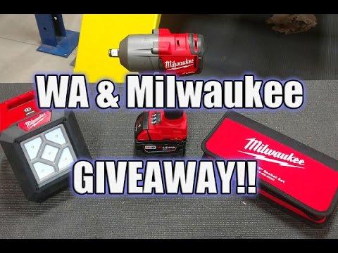 Milwaukee Tool Workshop Addict Tool Bucket List Giveaway – June 2017