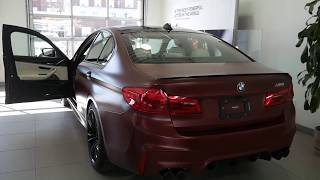 2018 BMW M5 F90 Exhaust