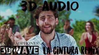 Alvaro Soler - La Cintura [Remix] ft. Flo Rida, TINI | 3D Audio (Use Headphones)