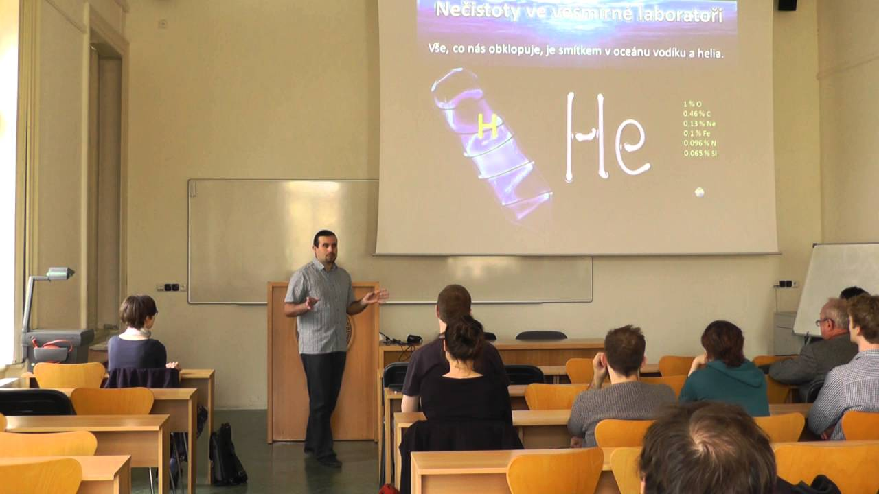 Seminář z Astrobiologie 2016/6 - Martin Ferus: Novinky v astrochemii