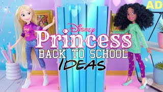 DIY - How to Make: Disney Princess Back to School Ideas PLUS Unboxing