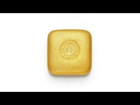 Bild -50 g Goldbarren Quadrat - C.HAFNER