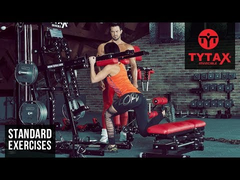 Lever Split Squat | TYTAX® M2