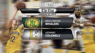 GameDay Classic: New London at Ledyard boys' basketball (2015)
