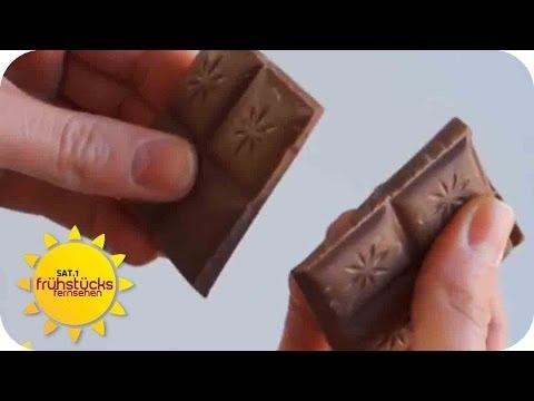 Alles über Schokolade und Kakao   SAT.1 Frühstücksfernsehen