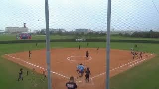 Galveston Ball HS Lady Tors vs Shadow Creek HS Lady Sharks 4/13/2018