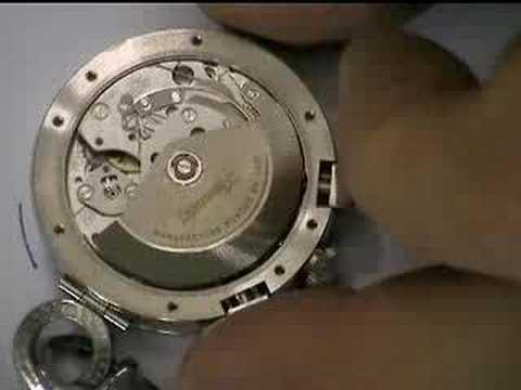 regolazione orologio automatico 2\3