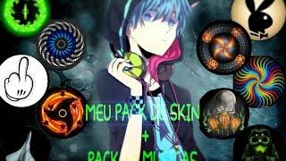 Meu Pack De Skin  + Pack De Musicas (Agar.io) 『 Tio Tetsu 』