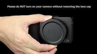 JJC LC GR3 Lens Cap Cover Protector for Ricoh GR III & GR II