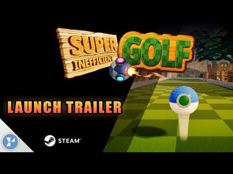 Super Inefficient Golf - Exploding Mines LAUNCH TRAILER STEAM thumbnail