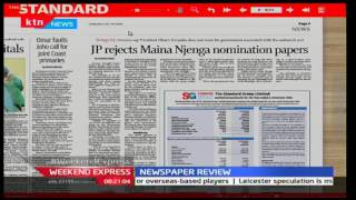 Jubilee Party rejects Maina Njenga's nomination on integrity grounds