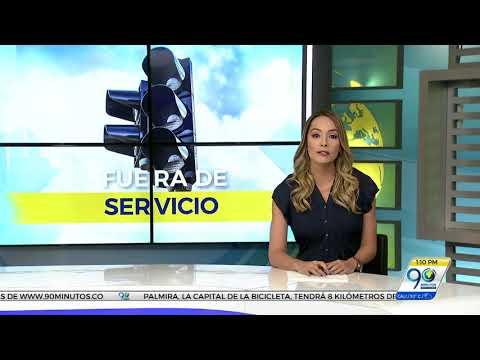 Los arreglaron: semáforos del sector de Santa Elena estuvieron dañados 6 días