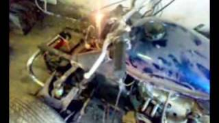 Смотреть онлайн Самодельный квадроцикл из Урала