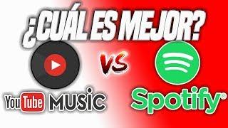 YouTube Music VS Spotify! | Calidad de sonido, catálogo...