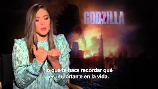 GODZILLA Entrevista ELIZABETH OLSEN