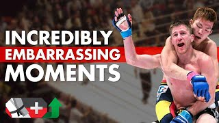10 Incredibly Embarrassing Moments in MMA History