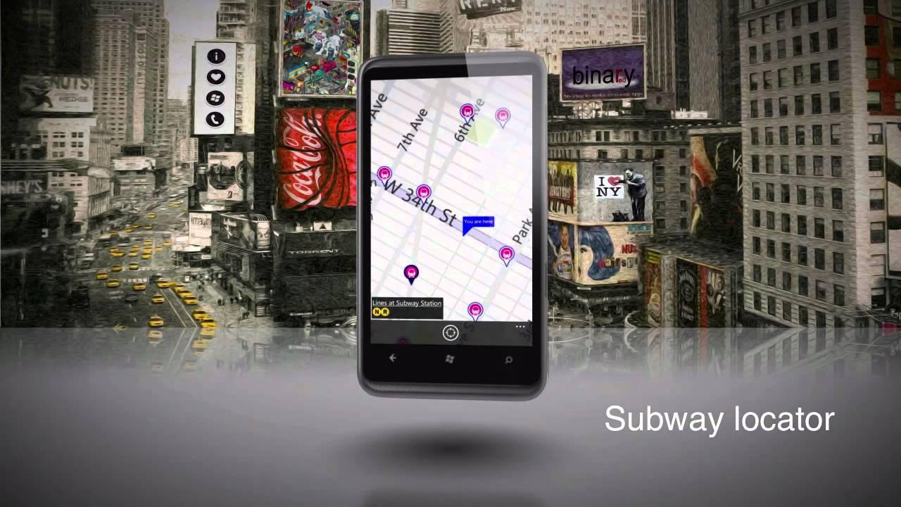 Windows Phone 7 Can Even Make Subway Maps Look Good
