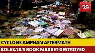 Kolkata Famous Book Hub, College Street Ravaged By Cyclone Amphan