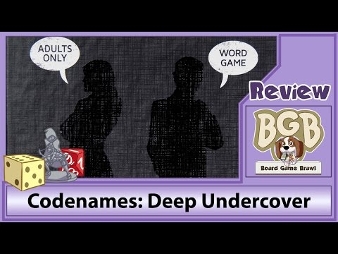 Board Game Brawl Reviews - Codenames: Deep Undercover
