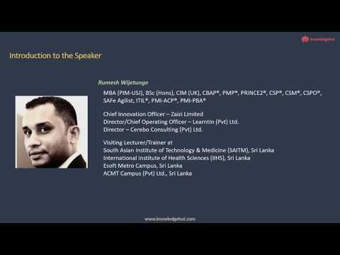 Introduction to Certified Business Analysis Professional (CBAP) from ...