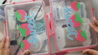 Project Share And Supplies- Felt Christmas Ornaments